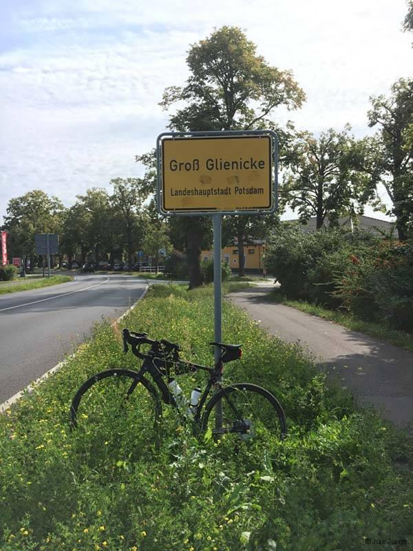 Ortseingang Groß Glienicke