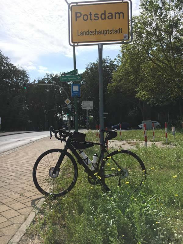 Mit Rennrad um Berlin - Ankunft in Potsdam