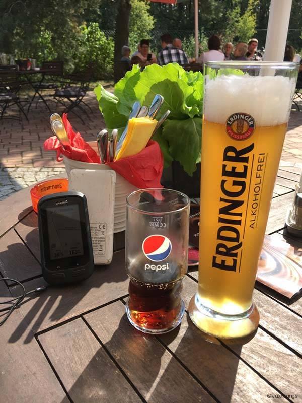 Mittagspause in der Alten Mühle Friedersdorf